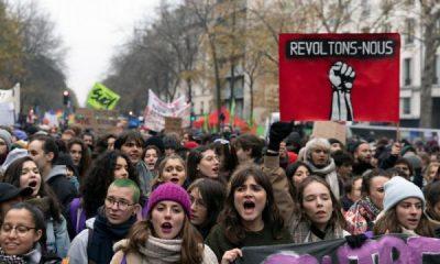 Fransa grevlerde rekora gidiyor