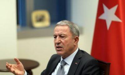 Hulusi Akar'dan NATO'ya çağrı: Artık bizimle hareket edin
