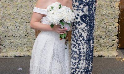 İngiltere'de 26 yaşındaki kadın halıyla evlendi