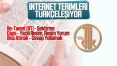 İnternet terimleri Türkçeleştiriliyor