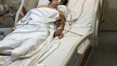 İzmir'de cani koca eşini öldüresiye dövdü