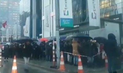 Kanal İstanbul soğuk hava dinlemedi