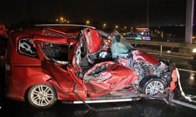 Kocaeli'de kaza: 1 ölü 5 yaralı