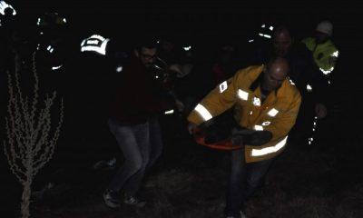 Konya'da takla atan araçtaki 1 kişi öldü 2 kişi yaralandı