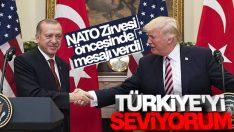 NATO Zirvesi öncesi Trump'tan Türkiye'ye övgüler
