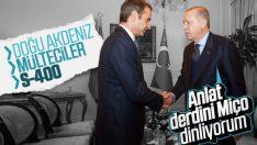 NATO Zirvesi'nde Erdoğan-Miçotakis görüşmesi