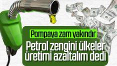 Petrol üreticilerinden üretimi azaltma kararı