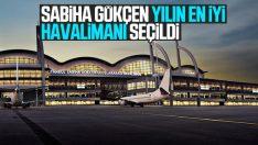 Sabiha Gökçen yılın en iyi havalimanı ödülünü kazandı