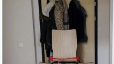 Sakarya'da kız öğrenci yurdunda kedi kız paniği