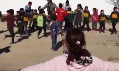 Tel Abyadlı çocuklardan Türkiye'ye mesaj
