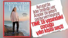TIME Dergisi Greta'ya yılın insanı seçti