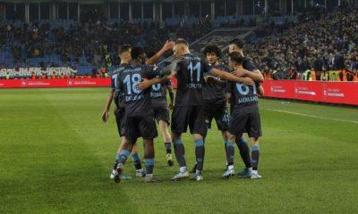 Trabzonspor, ilk yarıyı büyük patlamayla kapattı!