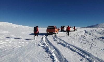 Uludağ'da kaybolan dağcıların ayak izleri bulundu