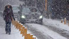 Kırmızı uyarı verilen bölgeler dikkat! Kar ve fırtına geliyor