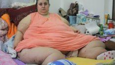 220 kiloluk kadının yardım çığlığı