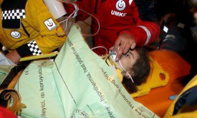 24 saat sonra kurtarılan küçük kız