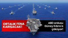 ABD ordusu Güney Kıbrıs'a yerleşiyor