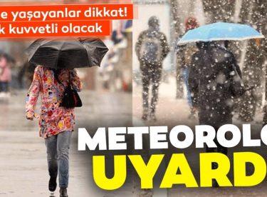 Meteoroloji'den son dakika sağanak, kar yağışı ve sis uyarısı!