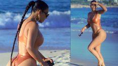 Kim Kardashian soluğu Meksika'da aldı