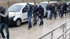 Adana'da polis torbacıları topladı