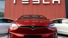 Almanlar, Tesla'nın Berlin'de kuracağı fabrikayı protesto etti