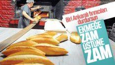 Ankara'da ekmek fiyatlarına bir zam daha