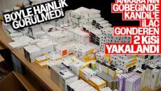 Ankara'da, PKK'ya ilaç temin eden iki şüpheli yakalandı