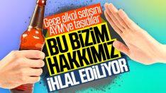 AYM, gece alkol satışı cezasını hak ihlali saymadı