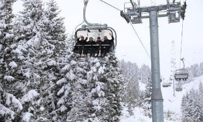 Çambaşı Yaylası'nda kar festivali