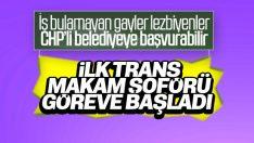 CHP'li belediyeye trans şoför