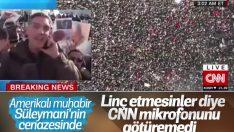 CNN Süleymani'nin cenaze törenini canlı yayınladı