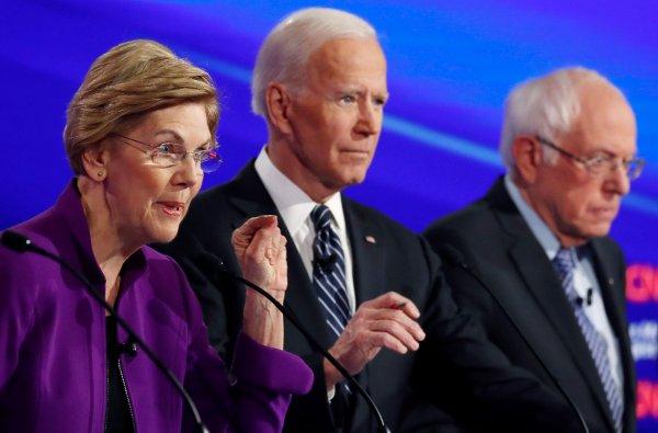 Demokratların seçim yarışında Sanders, Biden'ın önünde
