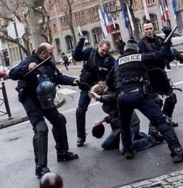 Fransız bakan polislerin şiddet uyguladığını kabul etmedi
