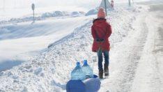 Hakkari'de soğuk hava etkili oluyor