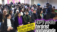 HDP'li vekiller 3 PKK'lı teröristi andı