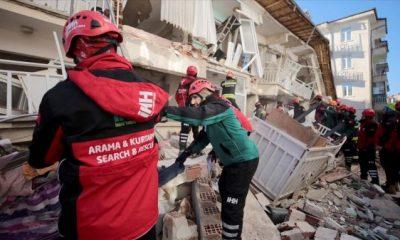 İHH ekipleri deprem bölgesinde yardımlarını sürdürüyor