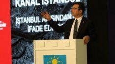 İmamoğlu: Kanal İstanbul'u yaptırmayacağız