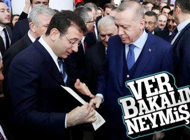 İmamoğlu'nun Erdoğan'a verdiği zarf