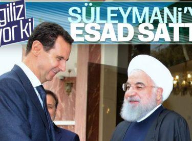 İngiliz gazetesi: Süleymani'yi Esad sattı