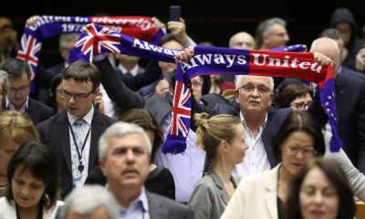 İngiliz vekiller Avrupa Parlamentosu'na veda etti