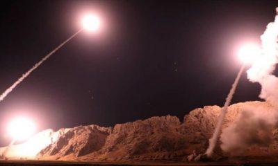 İran Irak'ta ABD üslerine saldırdı