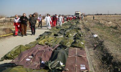 İran'da düşen uçaktaki patlama güvenlik kamerasında