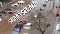 İsrail'de sel felaketi