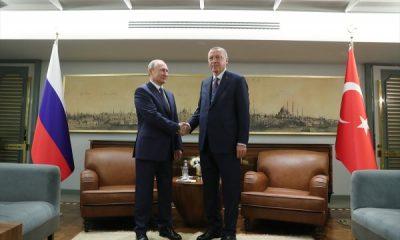 İstanbul'da Erdoğan – Putin görüşmesi