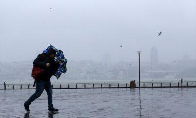 İstanbul'da fırtına 2 gündür devam ediyor