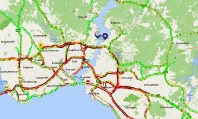 İstanbul'da sabah-akşam yollar kilit