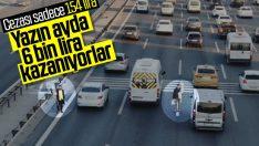 İstanbul'da trafikte satış yapan seyyarların kazancı