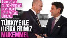 İtalya'dan Türkiye'ye sıcak mesajlar