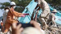 Kamboçya'da inşaat çöktü: 36 ölü