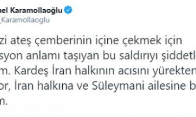 Karamollaoğlu: Süleymani için üzgünüm